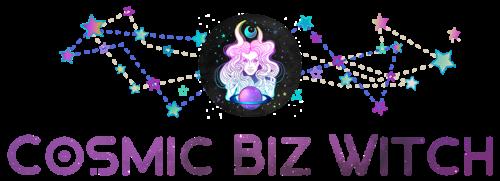 Cosmic Biz Witch logo